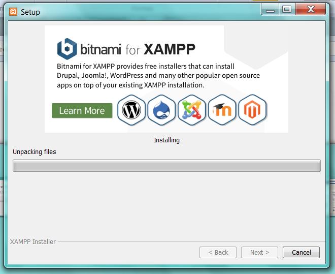 Instalacion XAMPP. Pantalla4